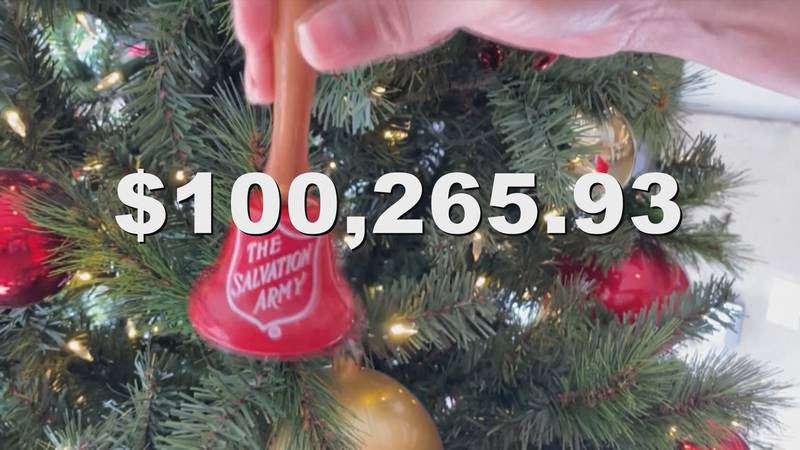 Although there were fewer red kettles this year, The Salvation Army of Laurel still decided to...