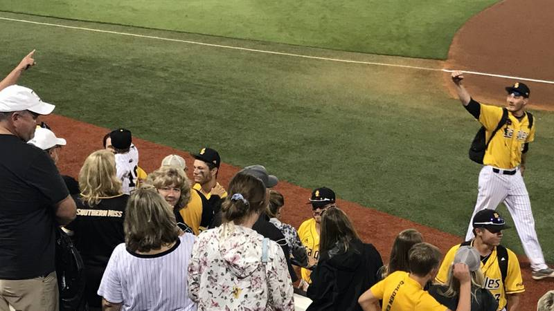 The University of Southern Mississippi will take on host Ole Miss Monday with the Oxford...