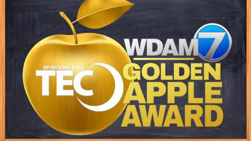 This month's TEC and WDAM 7 Golden Apple Award winner is Jade McBride, a West Jones Elementary...