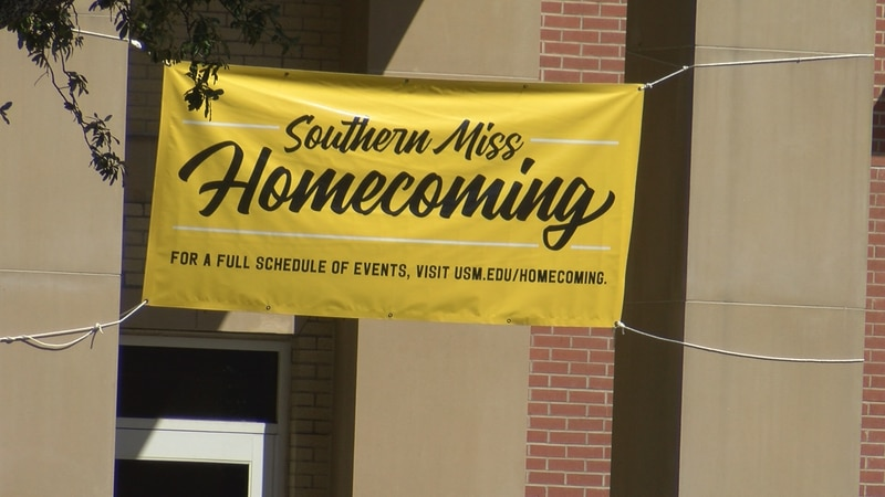 Southern Miss will hold its homecoming parade along Hardy Street at 1 p.m. Saturday.