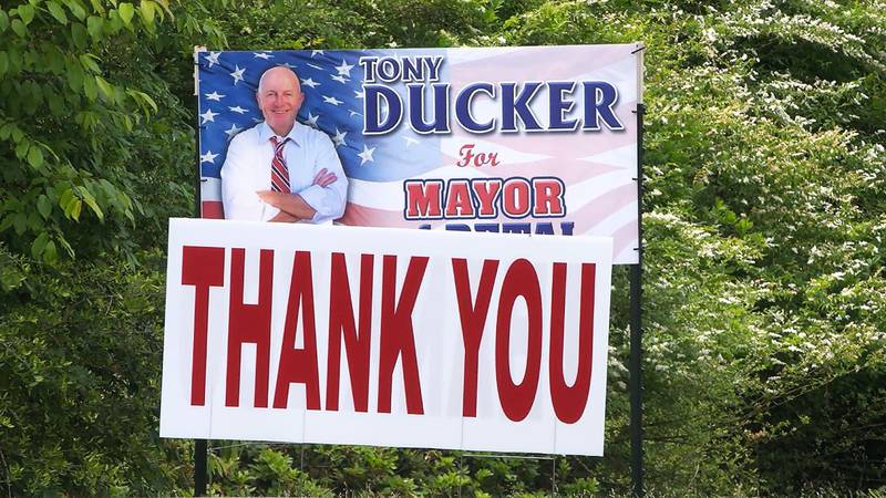 Mayor-elect Tony Ducker is in the process of interviewing for key positions for the city...