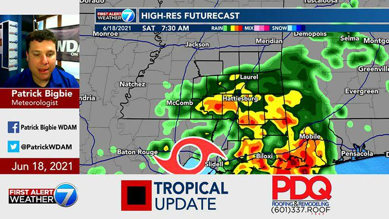 Tropical Update 6/18/21