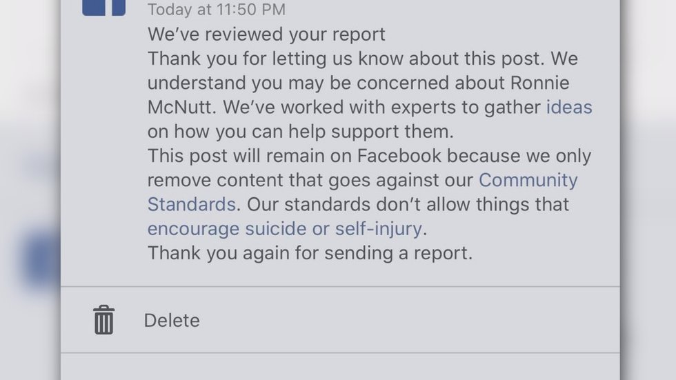 Criticism lobbed at social media companies after suicide video of Mississippi man goes viral