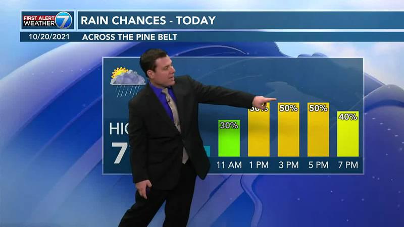 Patrick's Wednesday AM Forecast 10/20