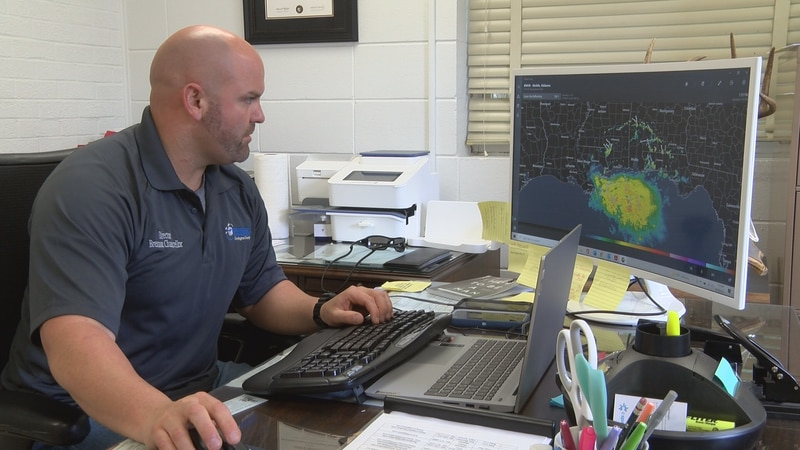 """Covington County director of emergency management Brennon Chancellor will host a """"Hurricane..."""