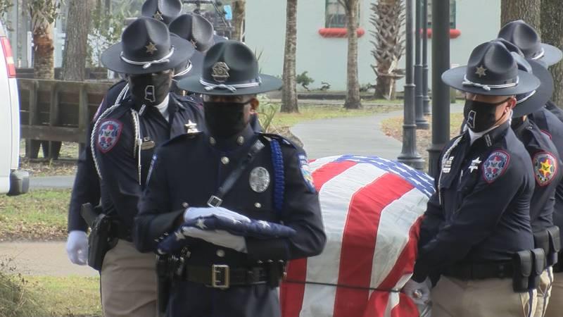 Lt. Michael Boutte's Funeral