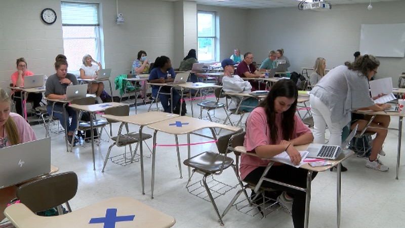 The goal is to increase the number of nursing educators at Mississippi community colleges.