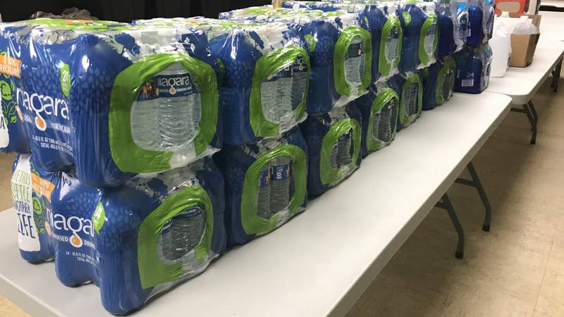They're asking local residents to help by donating bottled water, cleaning supplies, personal...