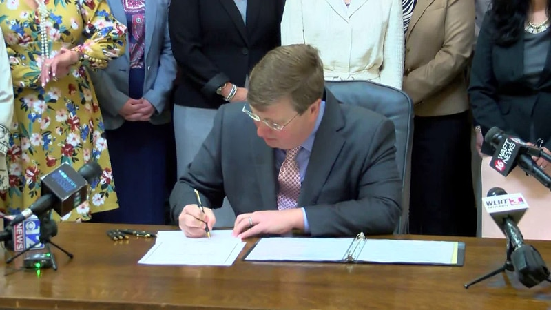 Gov. Reeves signs the Mississippi Fairness Act