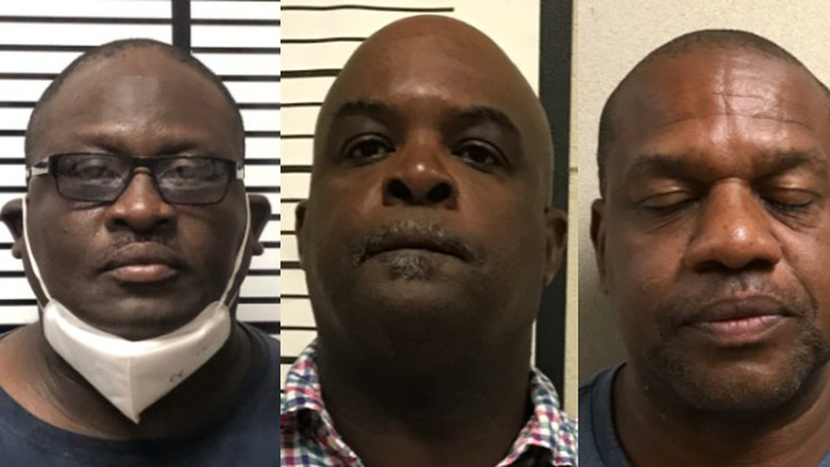 Jones County Beat 5 Road Foreman Roland Graham, Larry Barnes and Esau Moffett were indicted in...
