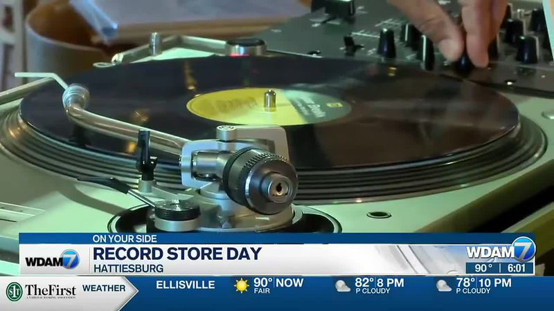Music stores across the country are celebrating the big comeback of the vinyl record.