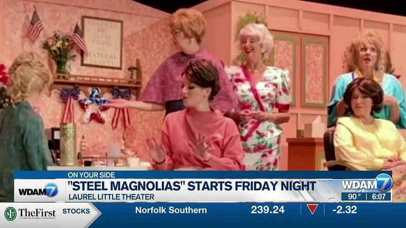 """Laurel Little Theatre's production of """"Steel Magnolias"""" is set to start on Friday night, Sept...."""