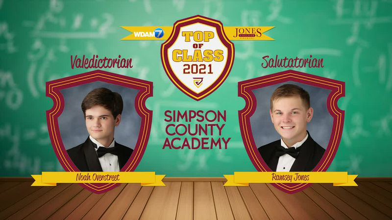 Top of Class 2021: Simpson Academy and Taylorsville High School
