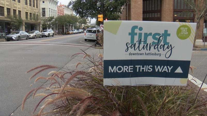 """Merchants hope """"First Saturday"""" will boost business in downtown Hattiesburg."""
