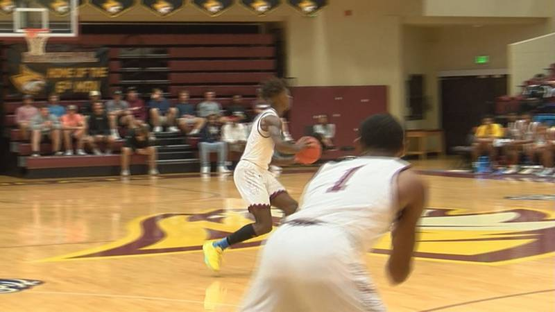 Rod Brown Passes The Ball For Pearl River