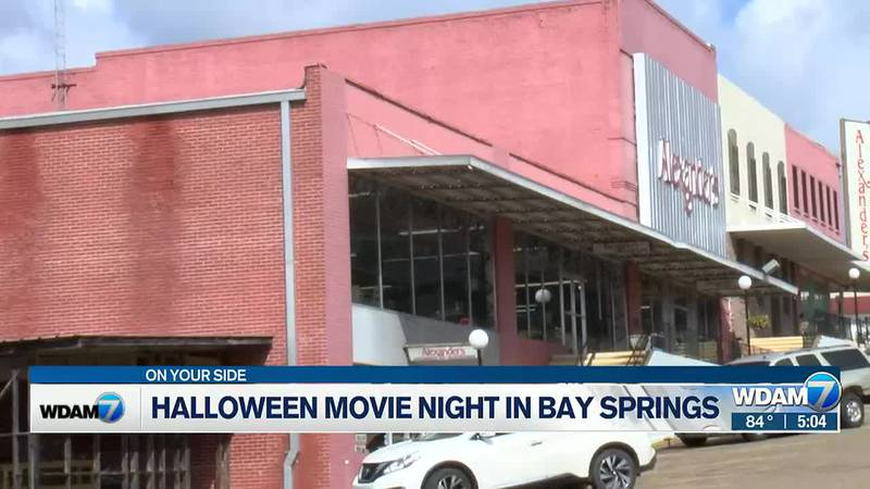 Bay Springs partners with Stringer for movie night