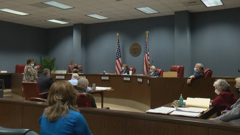 Forrest county board of supervisors meeting