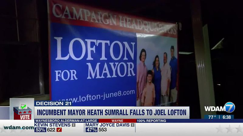 A new mayor will soon be taking over in Sumrall.