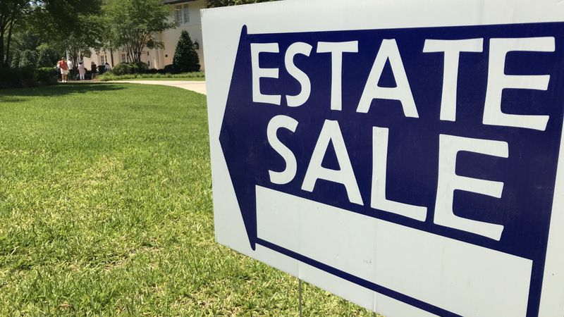 An estate sale is being held at the Chain home at 312 6th Ave.