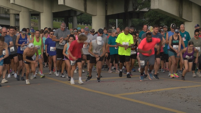 The 5K Restoration Run for Mission at the Cross begins Saturday.