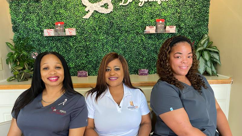 FROM LEFT TO RIGHT: Tanya Lee-Rideout, Owner, BeYOUtiful Wellness Clinic & Rapid Labs, LLC;...