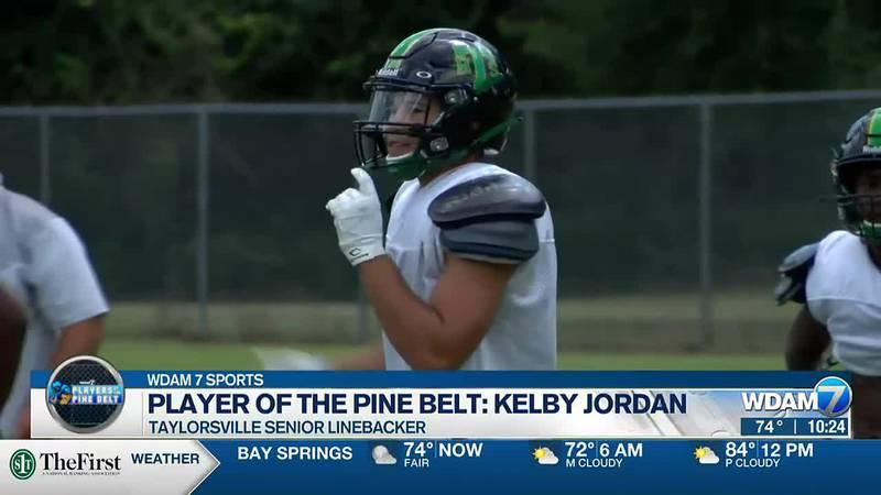Taylorsville senior linebacker Kelby Jordan