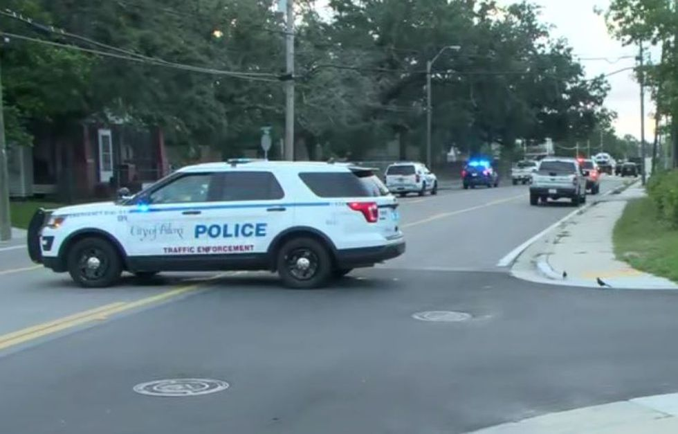 Division Street between Lee Street and Strangi Avenue is closed to traffic as Biloxi Police...