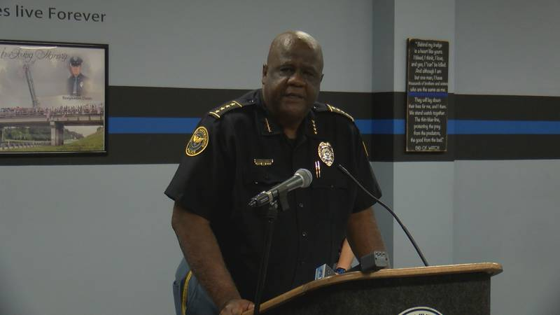 chief Anthony Parker provides an update on crime in Hattiesburg.
