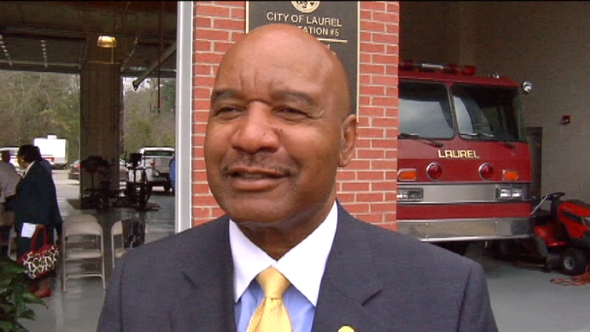 Melvin Mack became Laurel's first Black mayor when he was elected in 2005.