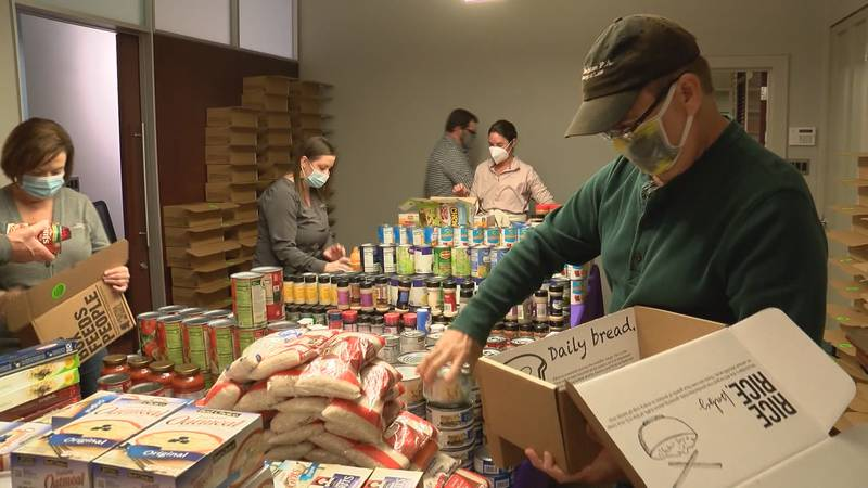 Even amid this pandemic, Extra Table continues to provide meals to thousands of families in need.