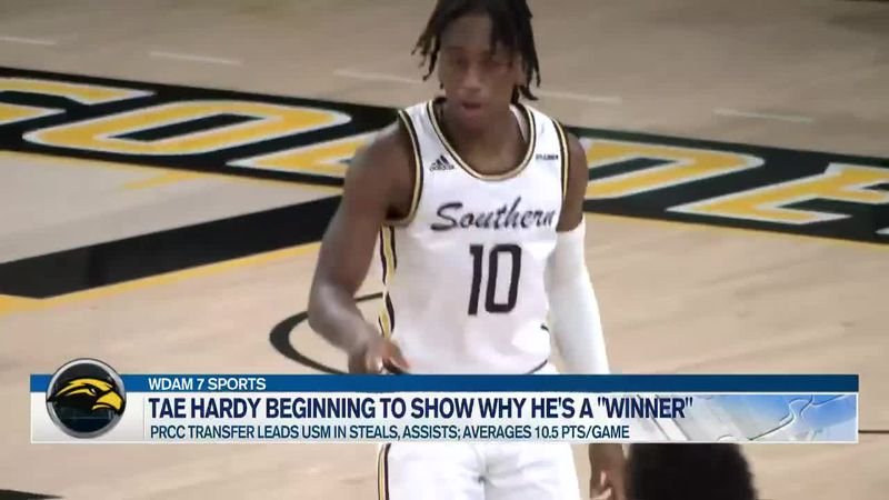 Tae Hardy finding groove with Golden Eagles