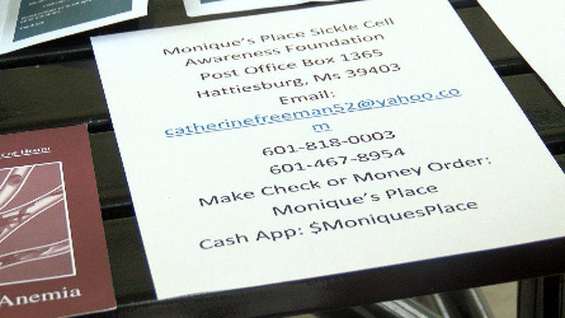 A Hattiesburg nonprofit is hoping to help individuals and families dealing with sickle cell...