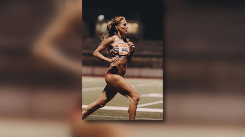 Track star Cory McGee is set to represent the U.S. in Tokyo at the Olympics next month after...
