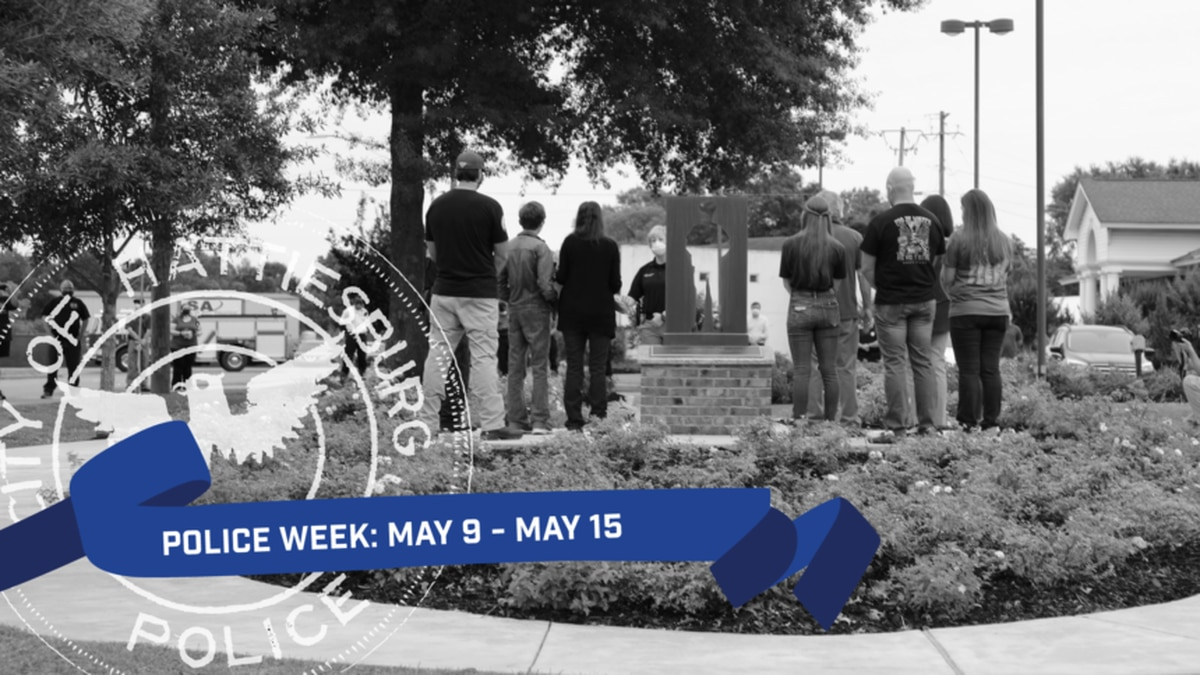 The city will observe National Police Week from May 9 to May 15.