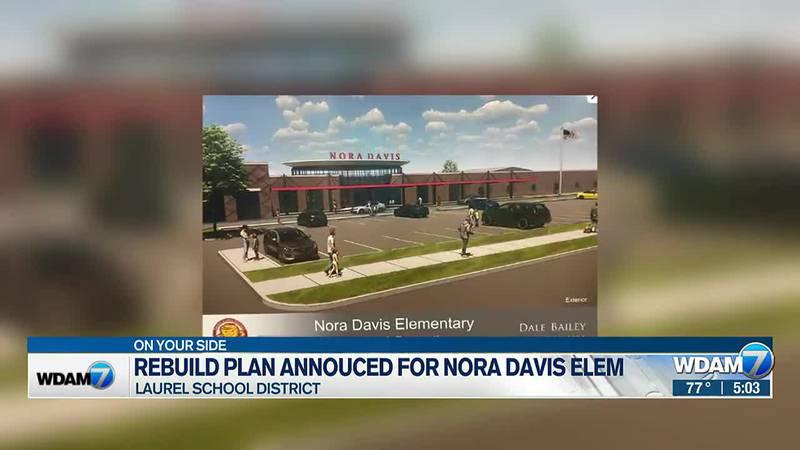 New rebuilding plan for Nora Davis School