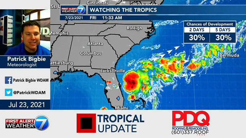 Tropical Update 7/23/21