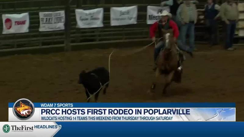 PRCC hosts rodeo in Poplarville.
