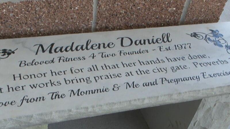 The Madalene Daniell bench.