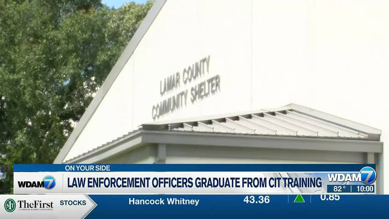 Law enforcement officers graduated from crisis intervention training Friday in Lamar County.