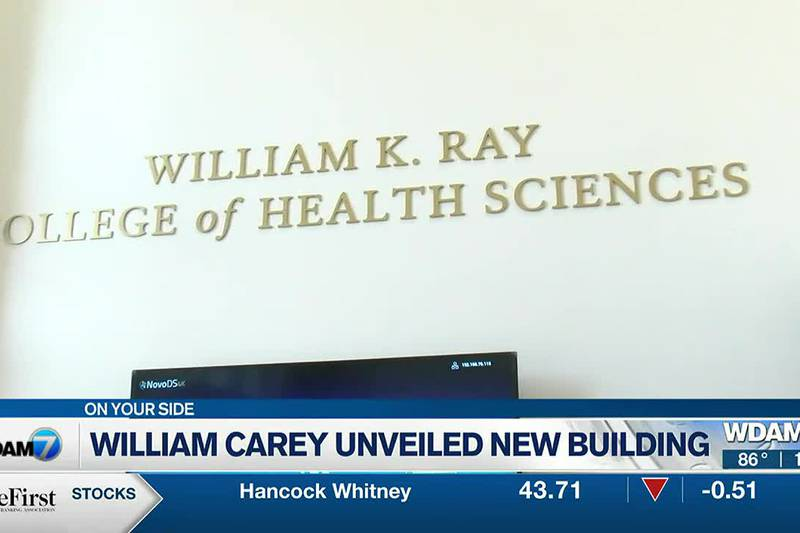 The William K. Ray College of Health Sciences cut the ribbon on their brand new...