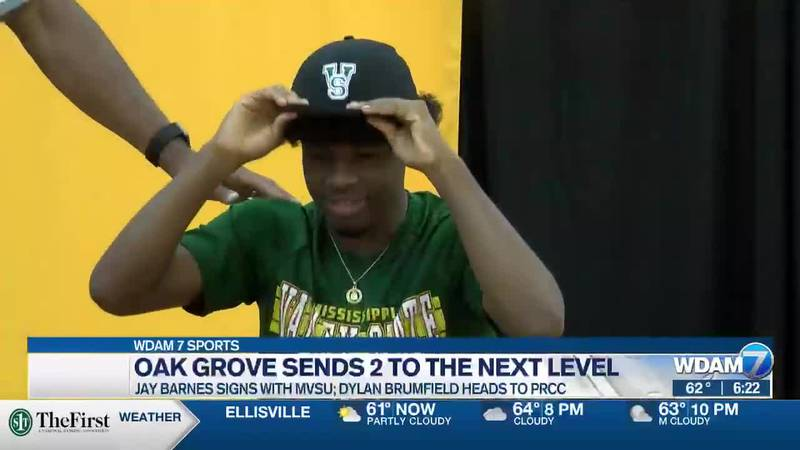 Jay Barnes signs with Mississippi Valley State.