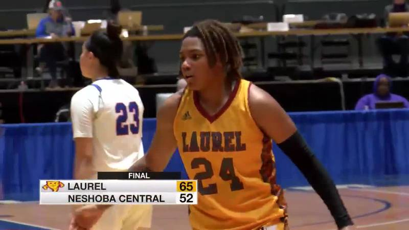 Mackenzie Thomas (24) led Laurel with 19 points in Tuesday's win.
