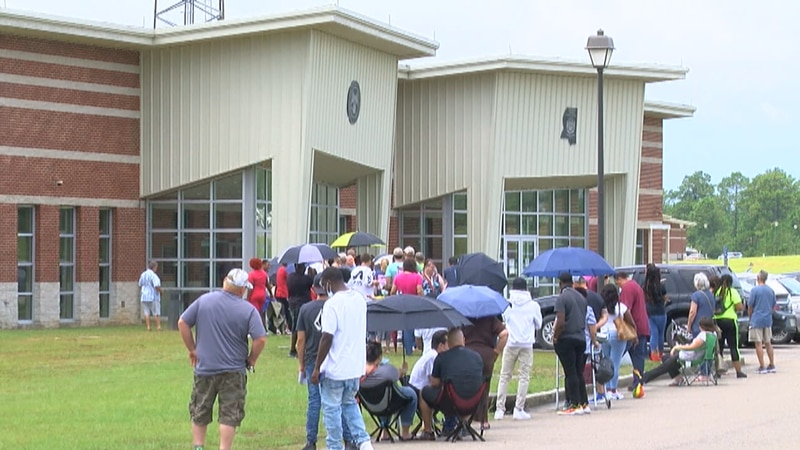 Long lines are no surprise outside driver's license stations, but state wide the computer...