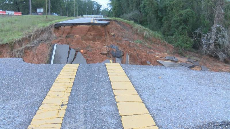 Authorities in George County are advising drivers not to take some of the smaller, rural roads...