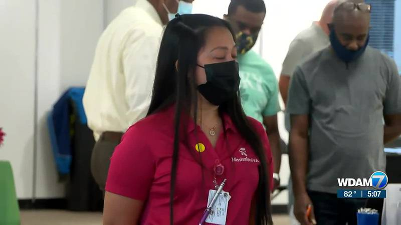 Several dozen businesses and organizations from around the Pine Belt were at the Sawmill Mall...