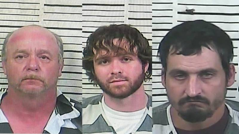 From left to right: Jessie R. Cowart, Robert E. Solomon and Adam Kerry Martin.