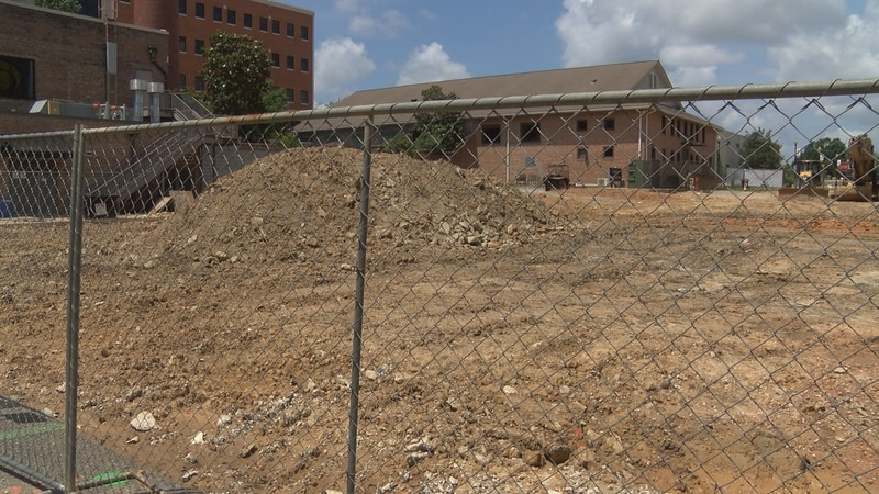 A new one-way road being built on the Southern Miss campus will link Montague Boulevard to...