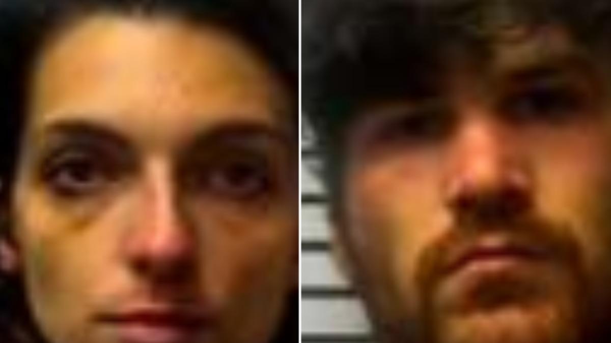 Toni Smith (left) and Stephen Beasley were charged with burglary and felony larceny in Jones...