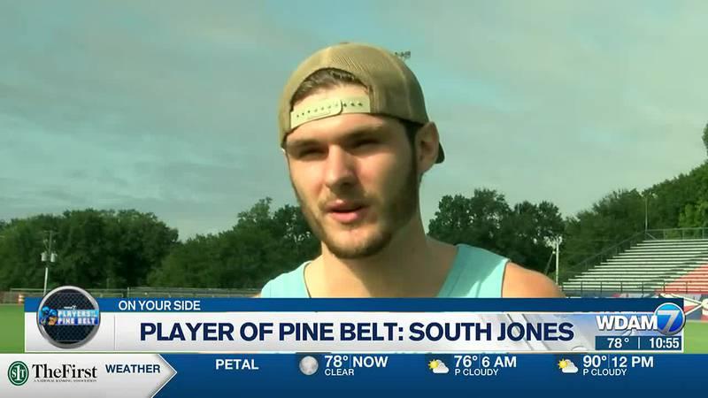Players of the Pine Belt: South Jones DE Sawyer Griffith