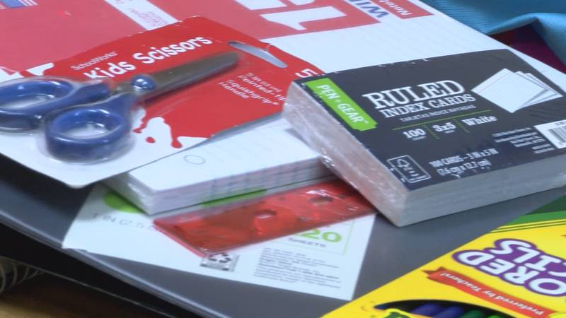 Youth Villages is a sponsorship program, but they are accepting donations of school supplies.